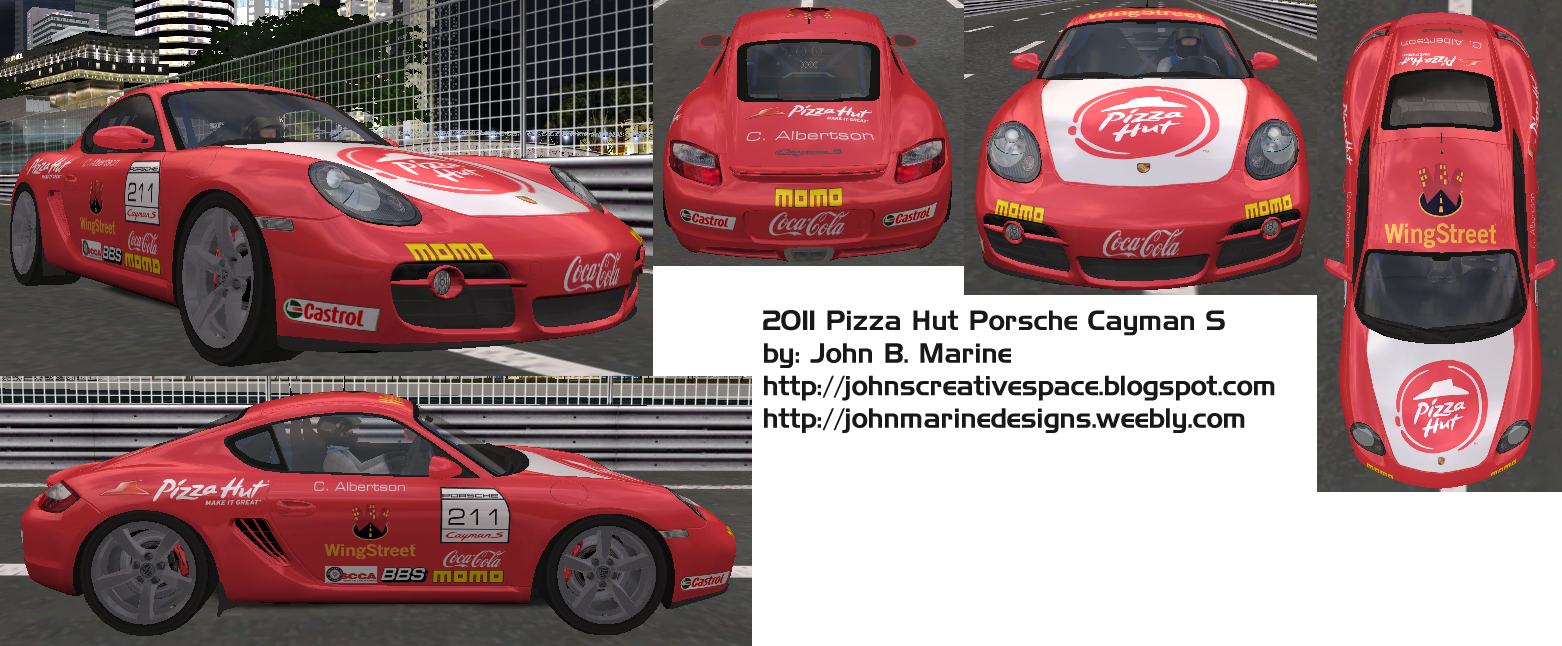 Pizza Hut Porsche Cayman S