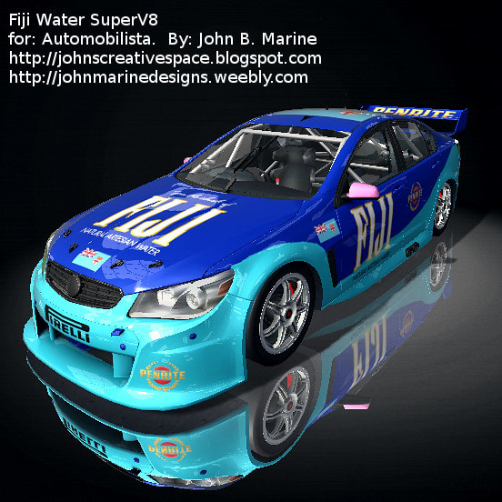 FIJI Water Super V8 SuperV8